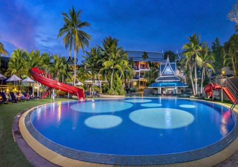 Swimming Pool Complex Chada Thai Village Hotel Krabi